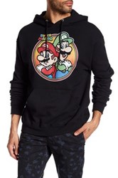 Fifth Sun Mario Brothers Hoodie Black