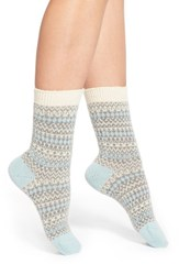 Women's Pantherella 'Floria' Fair Isle Cashmere Blend Socks
