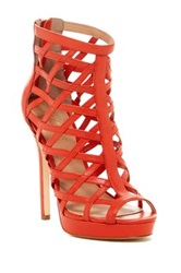 Nicole Miller Amelia Caged Sandal Orange