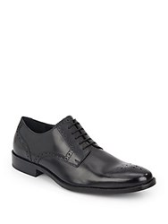 Cole Haan Williams Leather Lace Up Oxfords Black