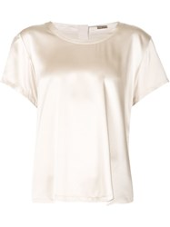 Adam By Adam Lippes Adam Lippes Classic T Shirt Blouse Nude And Neutrals