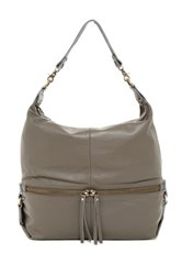 Sondra Roberts Washed Nappa Hobo Gray
