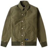 Bleu De Paname Bridge Jacket Green