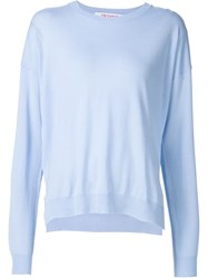 Organic By John Patrick Oversized Sweater Blue