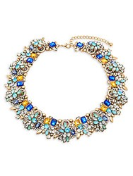 Saks Fifth Avenue Multicolor Crystal And 14K Gold Plated Necklace