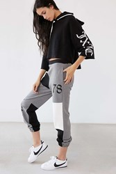 Juicy Couture For Uo High Rise Color Block Sweatpant Grey