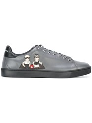 Dolce And Gabbana 'London' Sneakers Grey
