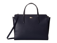 Lacoste Chantaco Shopping Bag Peacoat Handbags Blue