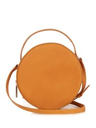 Pb Ab38 Leather Cross Body Bag Light Tan