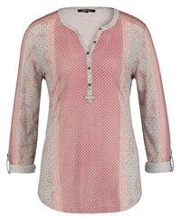 Olsen Jersey Printed Top Blush