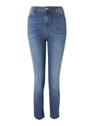 And Or Sierra High Rise Straight Jeans Mar Vista