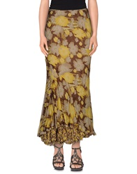 Ermanno Scervino Long Skirts Yellow
