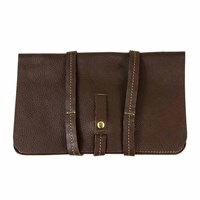 N'damus London Brown Ipad Mini Sleeve With Leather Rope