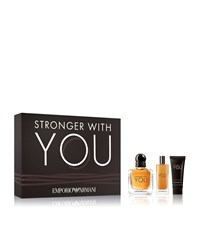 Armani Stronger With You For Him Edt Gift Set
