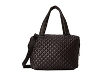 Steve Madden Bvoyagee Quilted Large Satchel Black Satchel Handbags