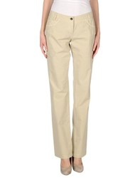 Heaven Two Trousers Casual Trousers Women Beige
