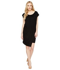Culture Phit Addy Side Cinched Cap Sleeve Dress Black Women's Dress