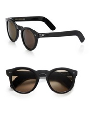 Cutler And Gross Classic 51Mm Round Sunglasses Black