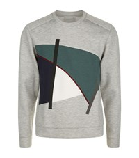 Solid Homme Abstract Shape Sweatshirt Male Grey