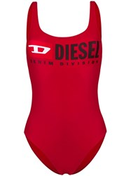 Diesel Bfsw Flamnew Swimsuit Red