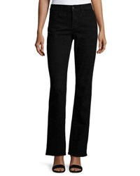 Nydj Barbara Boot Cut Denim Jeans Black