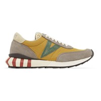 Visvim Yellow Attica Sneakers