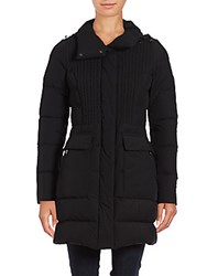 Post Card Deneb Cable Front Down Coat Nero