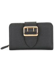 Burberry Buckled Wallet Black