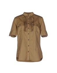 Henry Cotton's Shirts Shirts Women Khaki