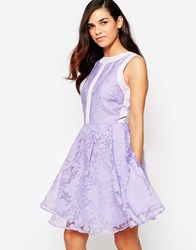 Lashes Of London Lila Organza Prom Dress Purple