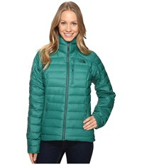 The North Face Polymorph Jacket Conifer Teal Women's Coat Blue