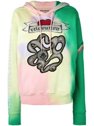 Zadig And Voltaire Spencer Tie Dye Hoodie Multicolour