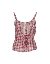 Duck Farm Topwear Tops Women Red