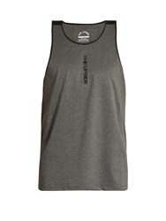 The Upside Stannas Performance Tank Top Black Grey
