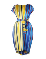 Collection Privee Knee Length Dresses Yellow
