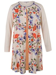 Chesca Floral Jacket Cream
