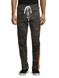 American Stitch Camo Print Twill Pants Wood Camo