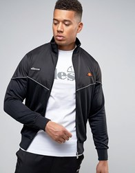 Ellesse Track Jacket With Reflective Piping Black