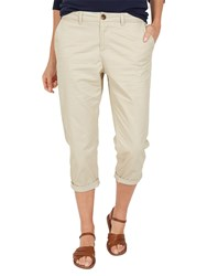 Fat Face Lulworth Chino Cropped Trousers Pebble