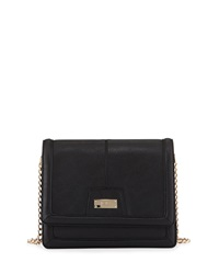 Bcbgmaxazria Bcbg Paris Chic Flap Top Crossbody Bag Black