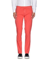 Baronio Trousers Casual Trousers Men Coral