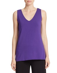 Context Hi Lo Tank Top Purple