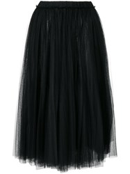N 21 No21 Tutu Style Full Skirt Polyamide Black