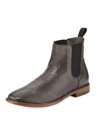 Frye Flex Construction Leather Chelsea Boots Gray