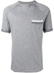 Natural Selection Fitted T Shirt Grey