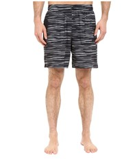 New Balance 7 Stretch Woven Short Black Grey Men's Shorts