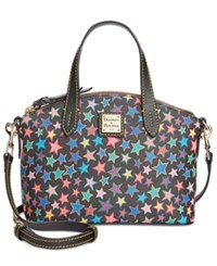 Dooney And Bourke Stars Ruby Mini Satchel Black