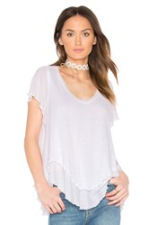 Free People Cookie Tee White