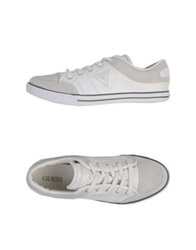 Guess Low Tops And Trainers Light Grey