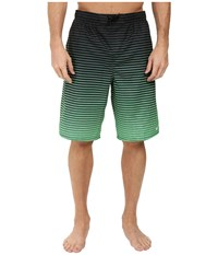 Nike Continuum 11 Volley Shorts Electro Green Men's Swimwear Black